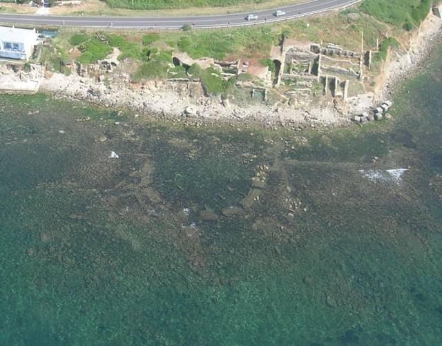 CASP - Santa Marinella, analisi supporto Piano della Costa, fondali