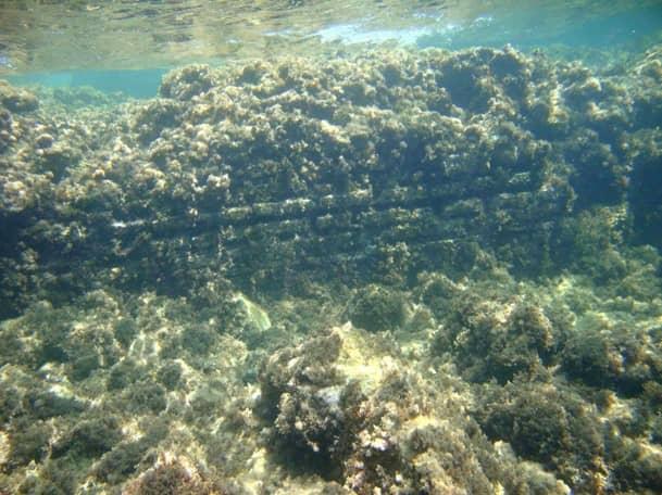 CASP - Santa Marinella, analisi supporto Piano della Costa, sostruzioni romane subacque