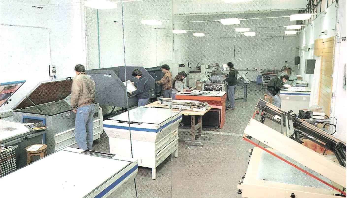 Centro disegno industriale Montevideo, centro stampa