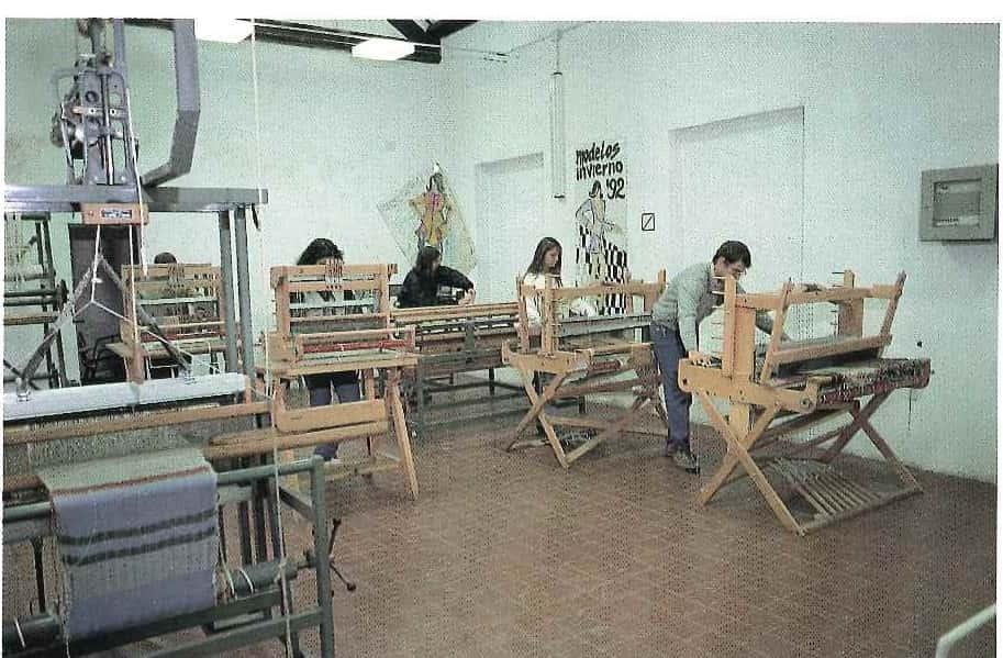 Centro disegno industriale Montevideo, taller textil