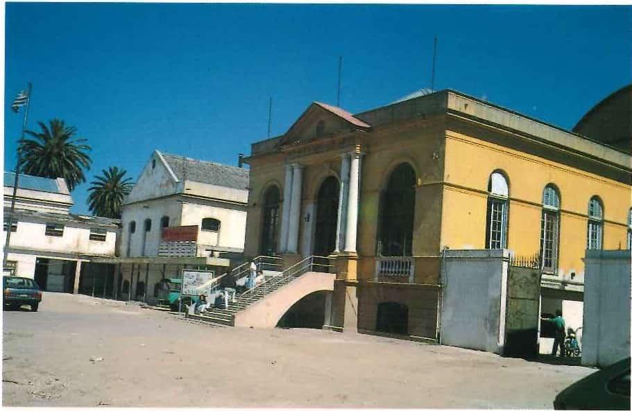 Edificio Miguelete, Centro di Disegno Industriale di Montevideo, facciata